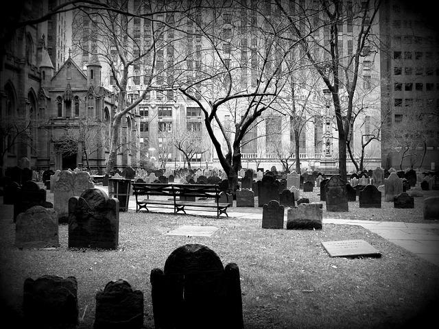 外国の墓場