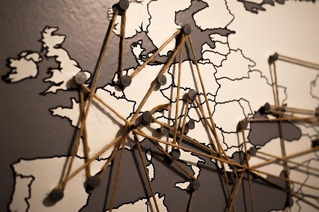 ヨーロッパのネットワーク