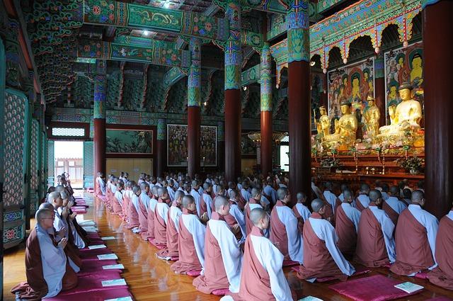 仏教の僧侶たち