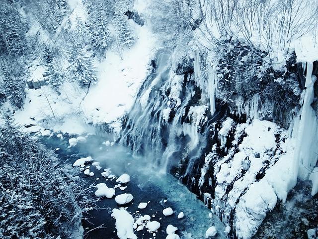 北海道の厳しい冬